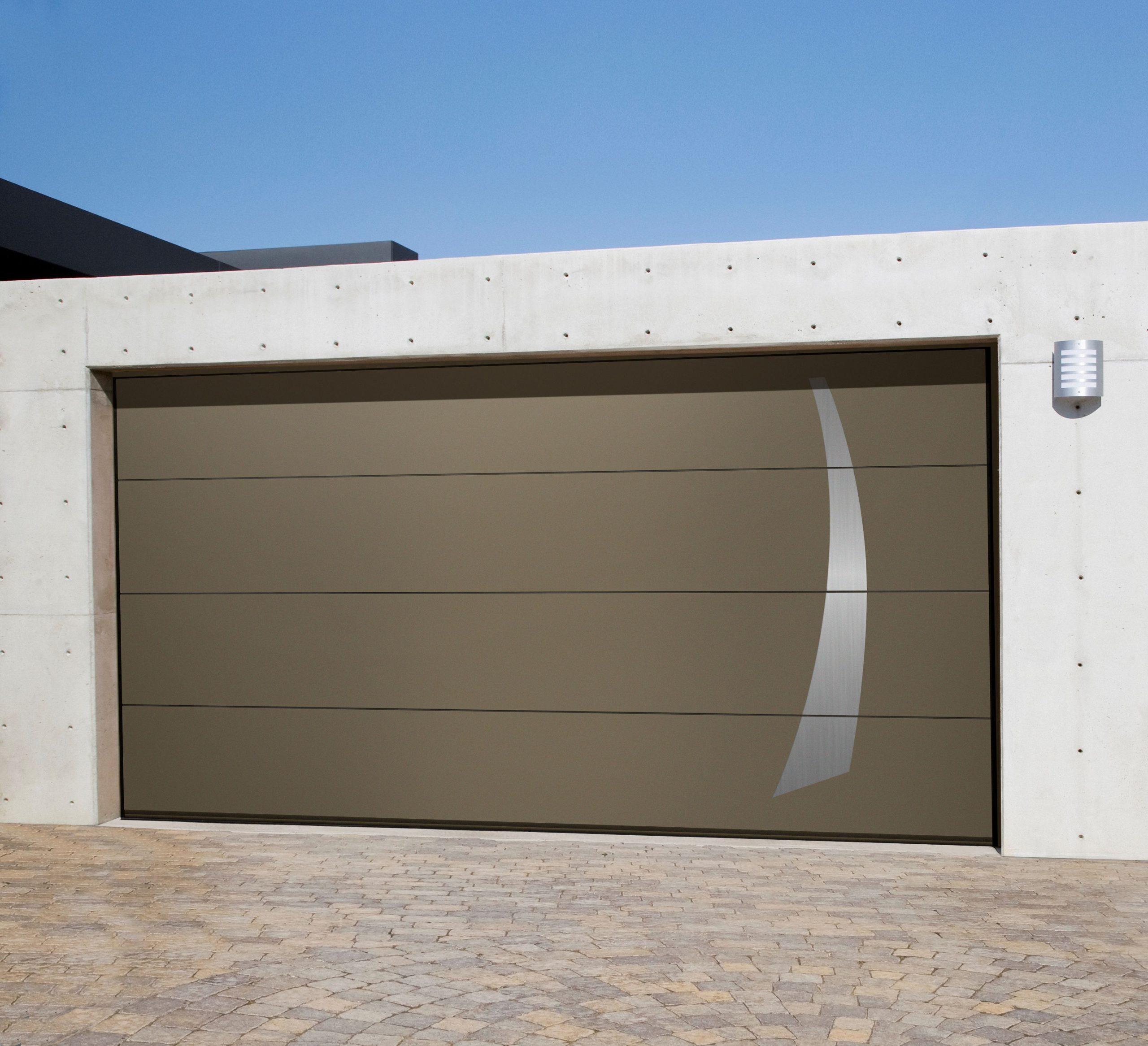 Placement de portes de garage L-Door