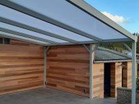 Construction d'une pergola pour terrasse